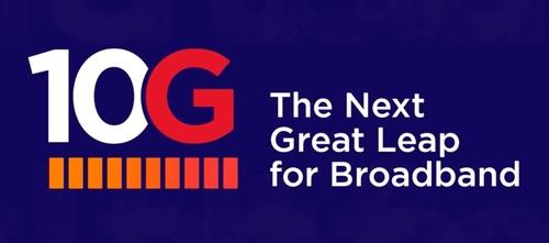 10G logo and tagline