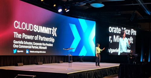 Microsoft's Gavriella Schuster at Ingram Micro Cloud Summit X