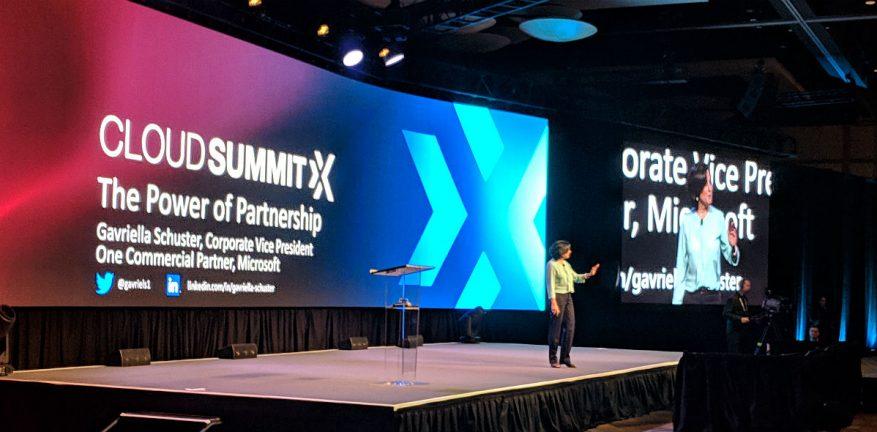 Microsoft's Gavriella Schuster at Ingram Micro Cloud Summit X