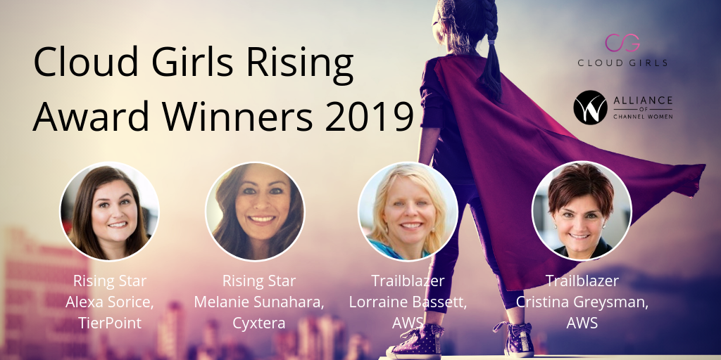 Cloud Girls Rising Awards 2019