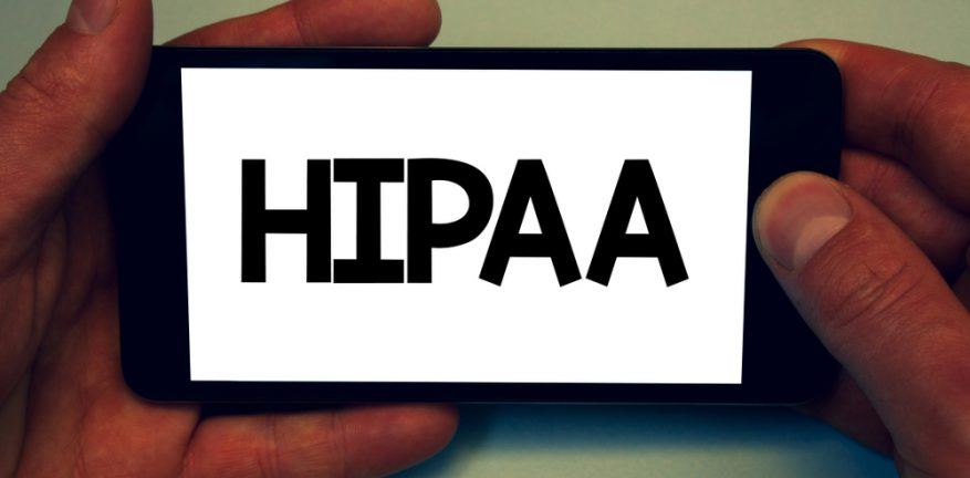 HIPAA on cellphone