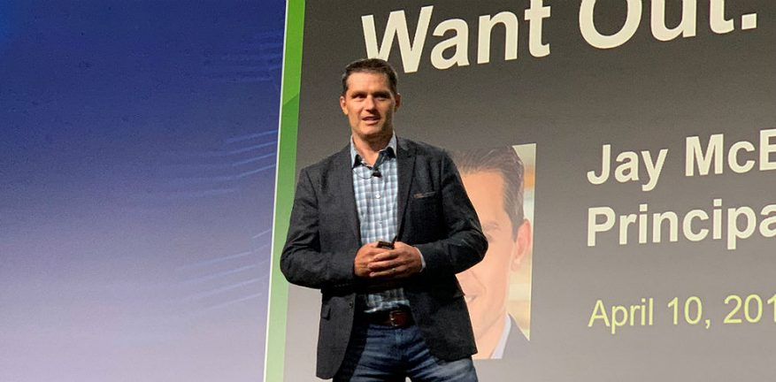 Forrester's Jay McBain at CP Expo 2019
