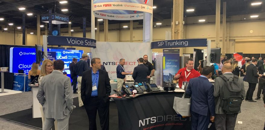 NTS Direct's booth at CP Expo 2019