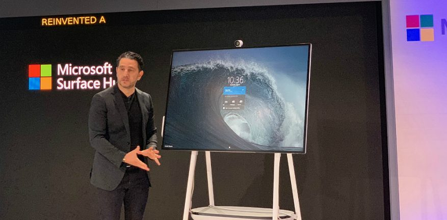 microsoft launches surface hub 2s conferencing and