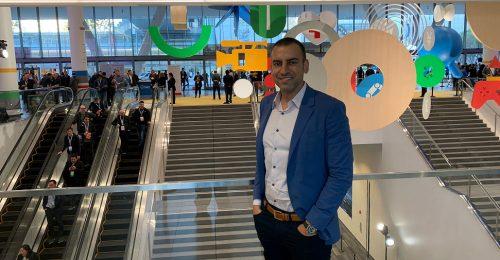 SADA Systems' Tony Safoian at Google Cloud Next '19 in San Francisco.