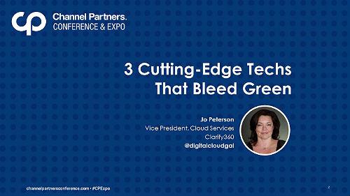 3 Cutting-Edge Techs