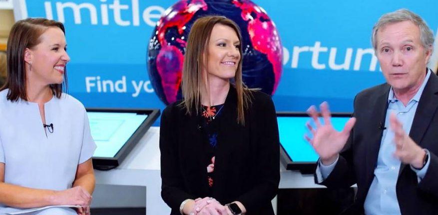 AT&T's Sara Straley and Kevin Leonard at CP Expo 2019