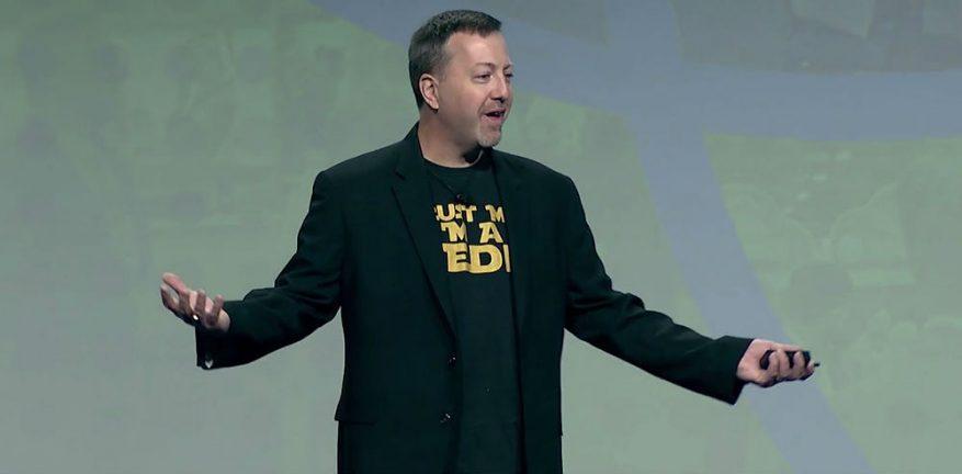 Dave Sobel SolarWinds Keynote CP Expo 2019