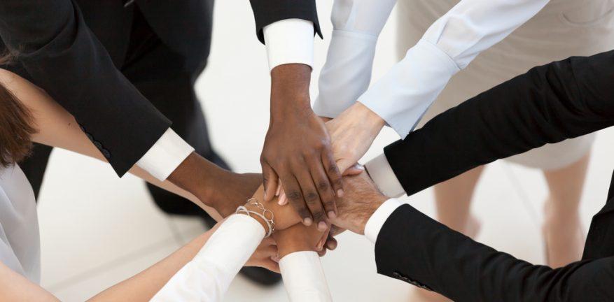 Businesspeople Teamwork, community