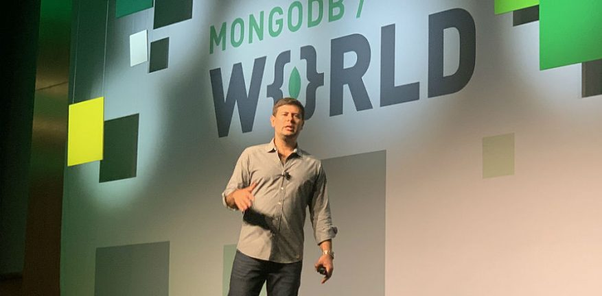 Horowitz, Eliot at MongoDB World 2019