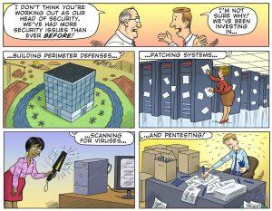 Sungard AS Security Practices Cartoon
