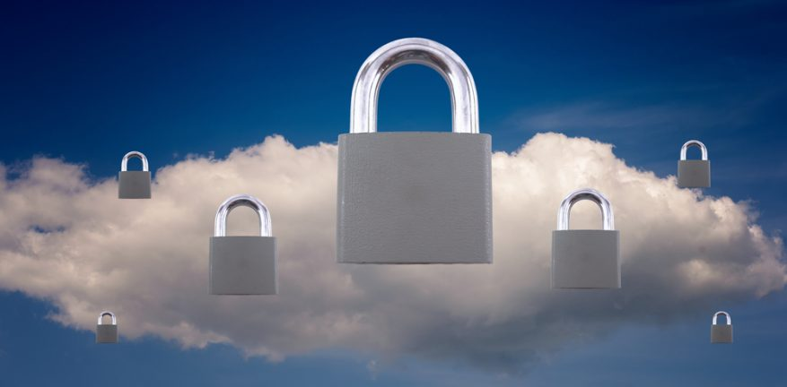 Cloud security with padlocks