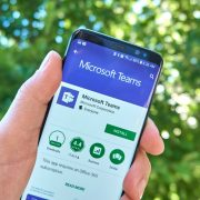 Microsoft Teams on Android Phone