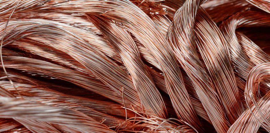 Copper Wire Pile