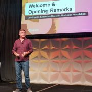 Jim Zemlin at Open Source Summit 2019