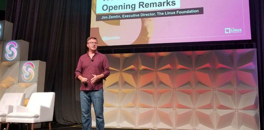 Jim Zemlin at Open Source Summit 2019