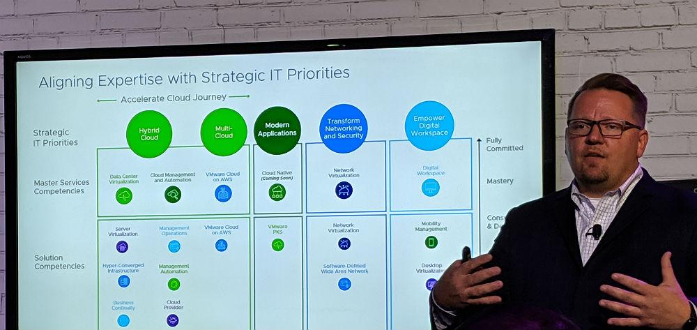 Richard Steeves VMware VMworld 2019