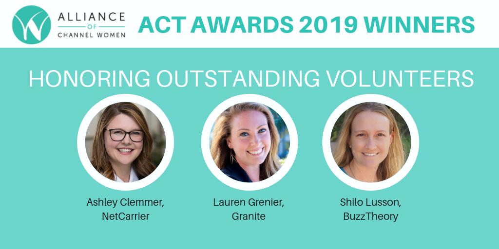 ACT Award Winners 2019
