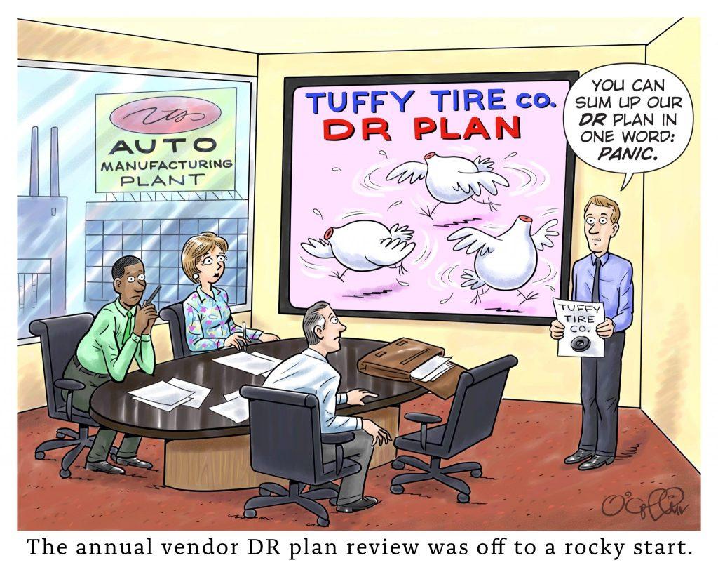 Sungard AS DR Plan Cartoon Sept 2019