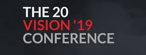 The 20 Vision '19 Conference logo