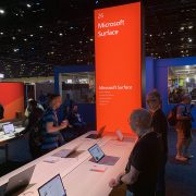 Microsoft Surface Pro X at Microsoft Ignite
