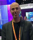 Avanade's Aaron Reich earlier this month at Microsoft Ignite 2019.