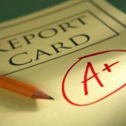 Report Card Grade A+