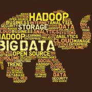 Big data word salad shaped like an elephant