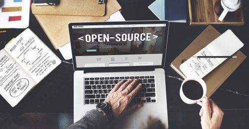 Open source on a laptop