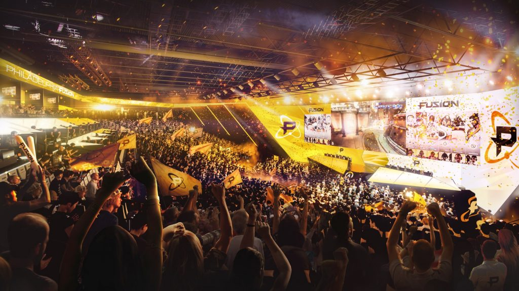 Comcast Fusion Arena, inside image