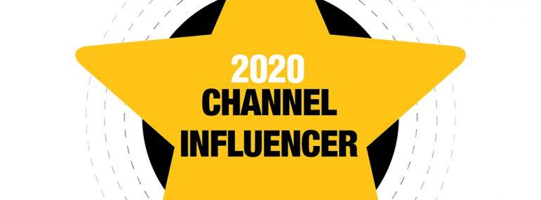 2020 Channel Influencer logo