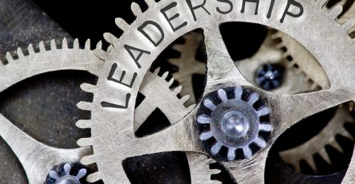 Leadership - gear in machine