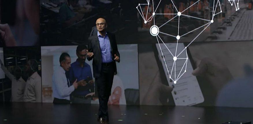 Microsoft's Satya Nadella at Future Decoded