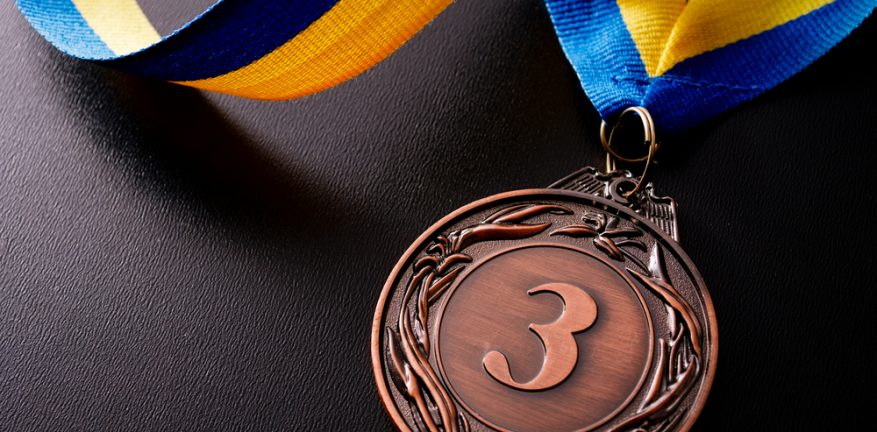Third Place, Bronze medal