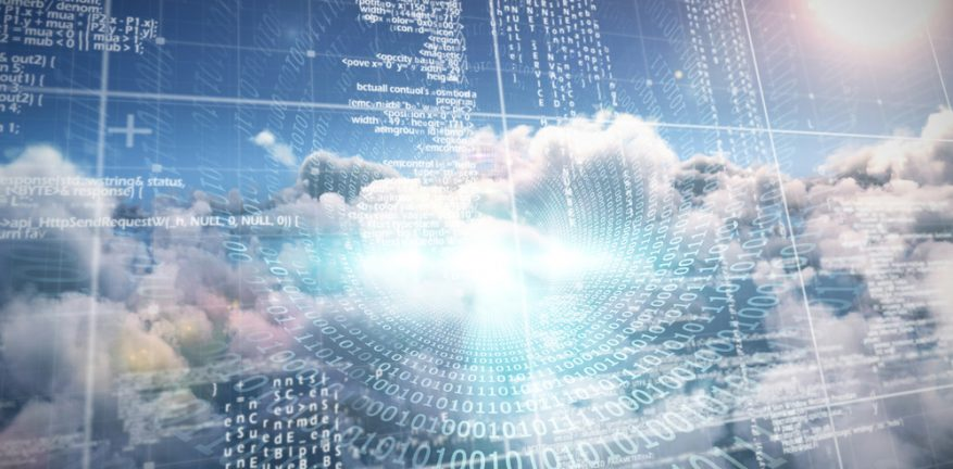 Cloud, cloud computing abstract