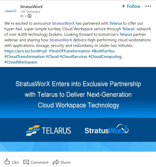 StratusWorX on LinkedIn