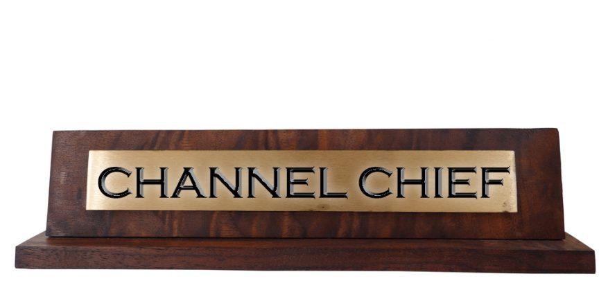 Channel Chief Nameplate