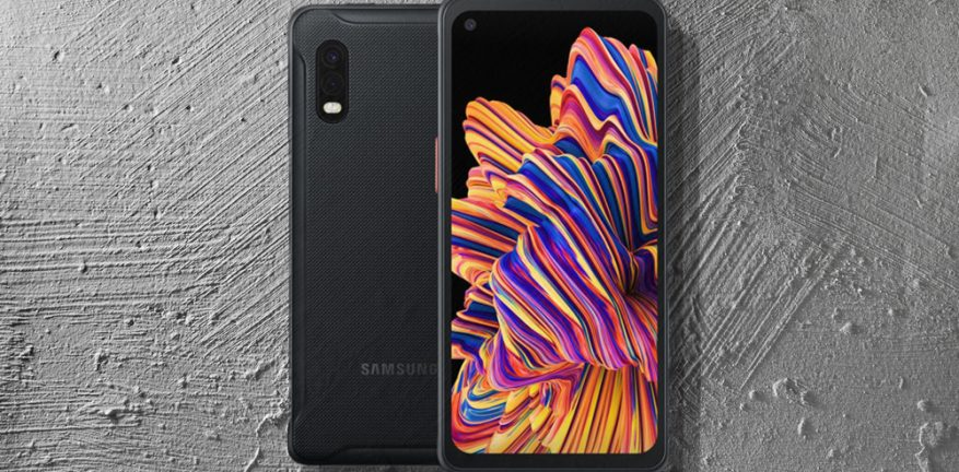 Samsung Galaxy XCover Pro ruggedized phone