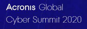 Acronis Global Cyber Summit 2020 logo