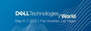 Dell Technologies World 2020 logo