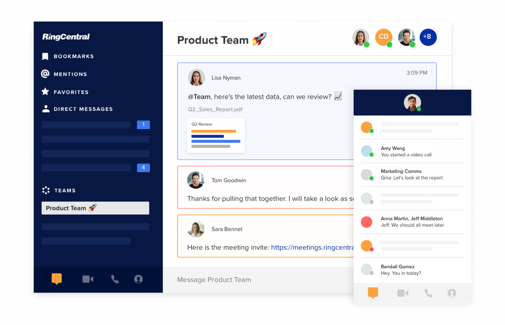 RingCentral Unified Communications App