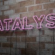Catalyst neon sign