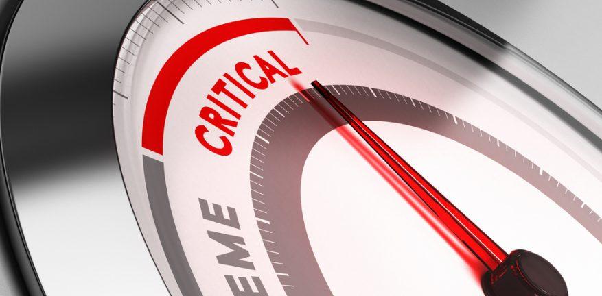 Critical indication on gauge