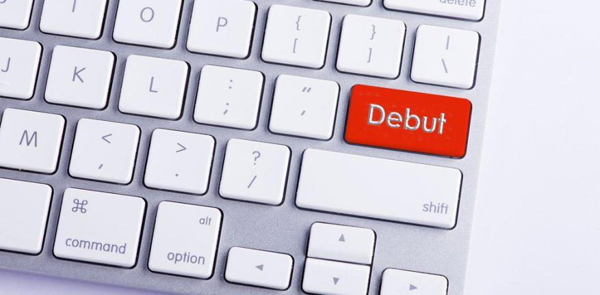 Debut key on keyboard