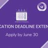 MSP 501 2020 App Deadline Extended