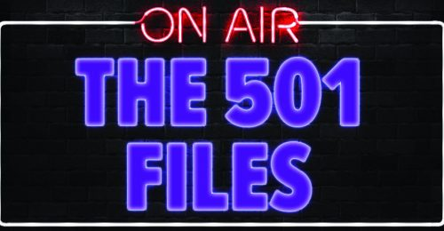 The 501 Files Podcast logo