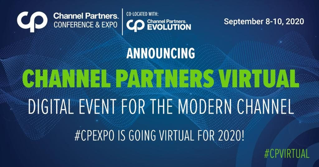 Channel Partners Virtual announcement banner