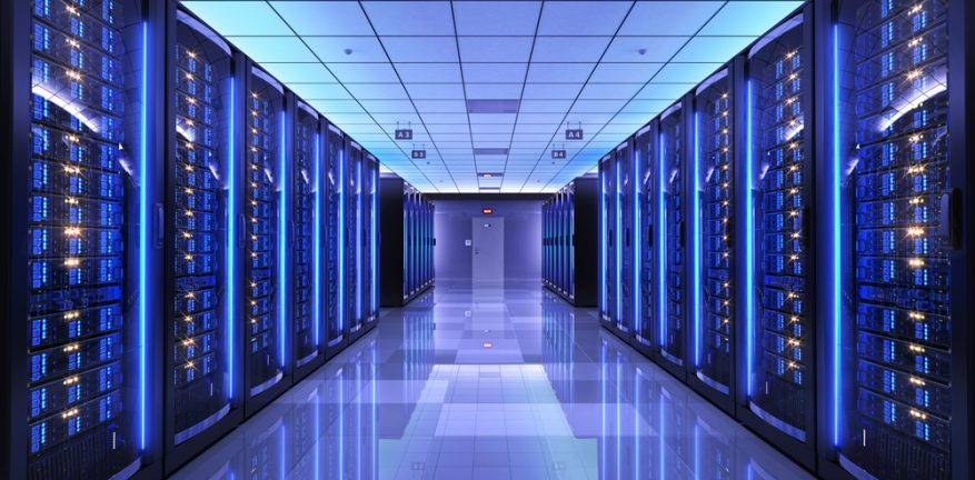 High performance computing data center
