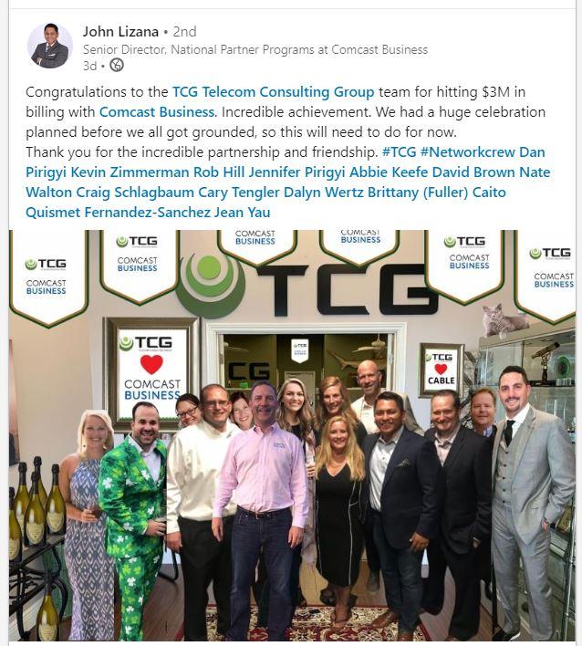 Comcast TCG