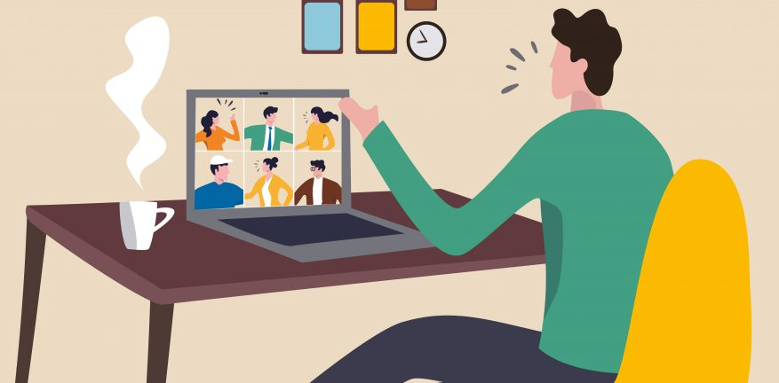 IT industry remote meeting